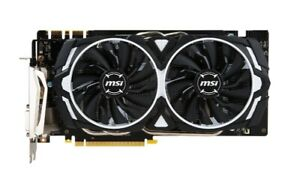 MSI GeForce GTX 1070 Armor 8G OC Video Card 8GB GDDR5 256B