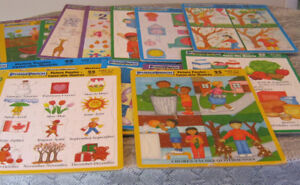 Puzzles - frame tray picture puzzles - 16  various themes