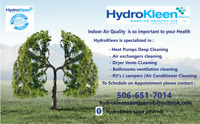 Heat Pumps Deep Cleaning-Air exchanger &Dryer  vents cleaning