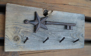 Rustic Barn Board Key Chain Holder