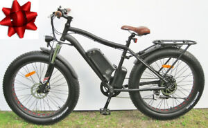 New Fat Ebike  all-season multi-terrain, loaded  & free delivery