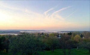 Beautiful view in Wolfville.
