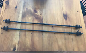 """Curtain Rods 28""""-48"""" - Set of 2"""