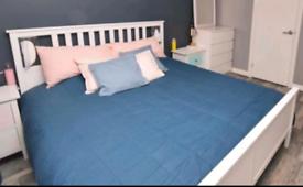 Hemnes superking bed