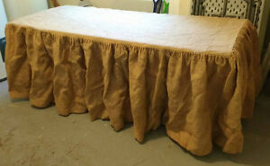Burlap Table Cloth and Table RENTALS