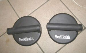 2 Men's health turning Handle Push up Bars in good condition