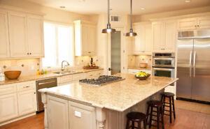 100% Maple Cabinet 50% OFF*Granite&Quartz Countertop From $45/SF