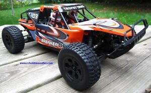 New RC Trophy Truck Baja Brushless Electric LIPO 2.4G 1/10 Scale