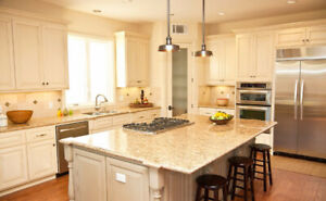 100% Maple Cabinet 50% OFF!Granite/Quartz Countertop From $45/SF
