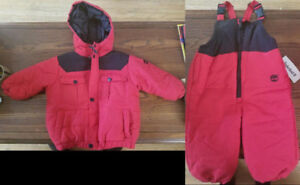 New 18 Month Timberland Winter Jacket + Snow Pants