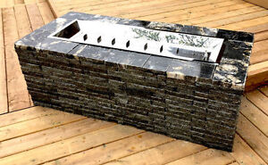 Granite Stone Fire Pits - Natural Gas or Propane ★★SUMMER SALE★★