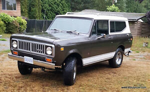 1975 International Harvester Scout Convertible