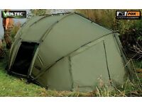 Fox voyager bivvy and Extended wrap