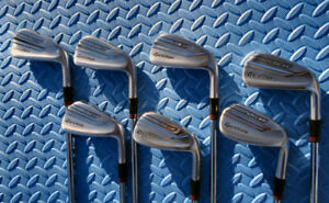 Taylormade P790 irons. 4-PW with ProjectX 5.5 shafts