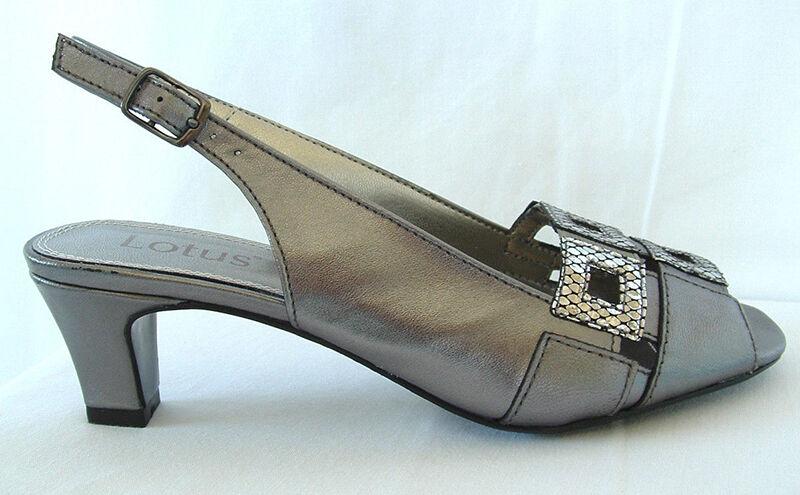 Lotus Zabrina Slingback Heels
