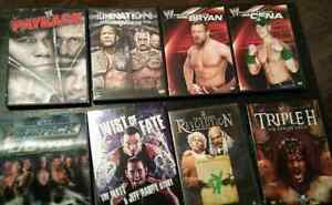 WWE &TNA Wrestling DVDS