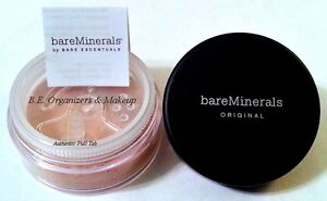 AUTHENTIC Bare Escentuals Mineral MEDIUM BEIGE Foundation 8g - XL - Click - NEW!