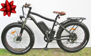 Kador Fat Ebike - brand new, free spare battery, bargain price