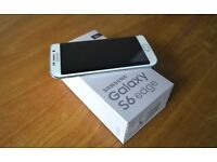 SAMSUNG GALAXY S6 EDGE,32GB WHITE,FACTORY UNLOCKED,IMMACULATE CONDITION,BOXED AS NEW