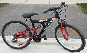 "Mountain Bike for Sale Full Susp 18-spd 16""Frm 24""TIR SUPSER CYC"