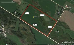 39.82 Acres For Sale in St Andrews, MB