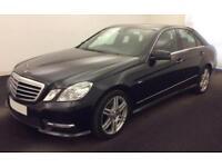 2012 BLACK MERCEDES E250 2.1 CDI SPORT DIESEL AUTO SALOON CAR FINANCE FROM 41 PW