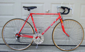 Old red 10-speed bike for sale