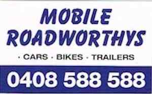 MOBILE ROADWORTHY CERTIFICATES (SAFETY CERTIFICATES) Archerfield Brisbane South West Preview