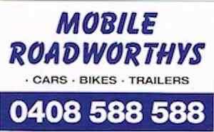 MOBILE ROADWORTHY TRUCKS CARS BIKES TRAILERS East Brisbane Brisbane South East Preview