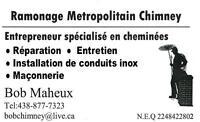 chimney/cheminée