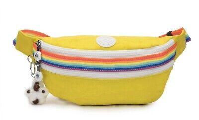 Kipling Yasemina Fanny Pack Honey Dew Bag Waist Shoulder Authentic NWT NEW