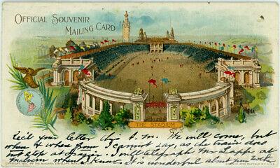 1901 Official Souvenir Stadium Buffalo NY Exposition Pan American