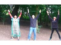 Qi gong fusion in Queens Wood - Monday 24 July 2017