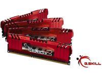 Brand New G.Skill RipJawsZ 8GB DDR3 Memory