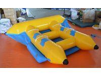 Inflatable Flyfish Banana Boat Slide Water