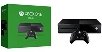 Microsoft Xbox One Console 1TB, with 6 Games