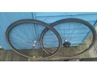 Vintage Road bike wheels