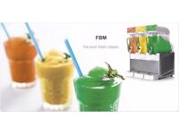 Triple Slush Machine each Bowls is 12 Lt in full are 36 Lt -! Available End of April