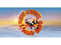 2 X CHITTY CHITTY BANG BANG THEATRE TICKETS BIRMINGHAM HIPPODROME 8TH SEPT 7PM CAN POST IF NECESSARY