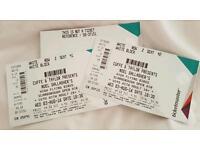 2 x Noel Gallagher's High Flying Birds Tickets