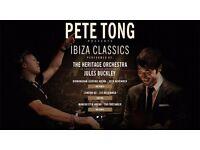 2x Tickets for Pete Tong presents Ibiza Classics, Birmingham, Wed 30th November