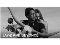 4 seated tickets Jay-z and Beyonce OTR ll tour,manchester