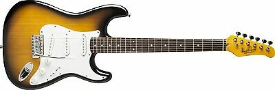Oscar Schmidt OS-300-TS-A Strat-style Electric Guitar (Sunburst) OS300
