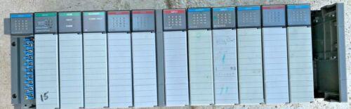 Allen Bradley 1746-A13 SLC 500 13-Slot Rack with CARDS I/O T/C Scanner DCM