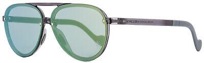 Moncler Aviator Sunglasses ML0063 20Q Transparent Gray 61mm (Transparent Aviator Sunglasses)