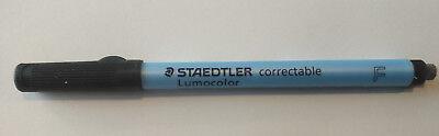 2pc Staedtler Lumocolor Correctable Dry Erase Pens Non-permanent 305 F-9 Fine