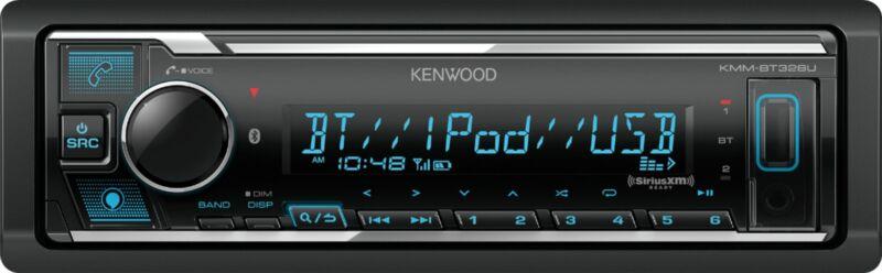 Kenwood - In-Dash Digital Media Receiver - Built-in Bluetooth - Satellite Rad...
