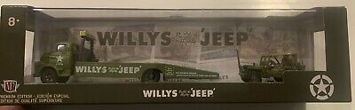 M2 Castline Trailer Willys Jeep 1958 Dodge COE 1944 Jeep MB 1:64 R39 20-12 6000