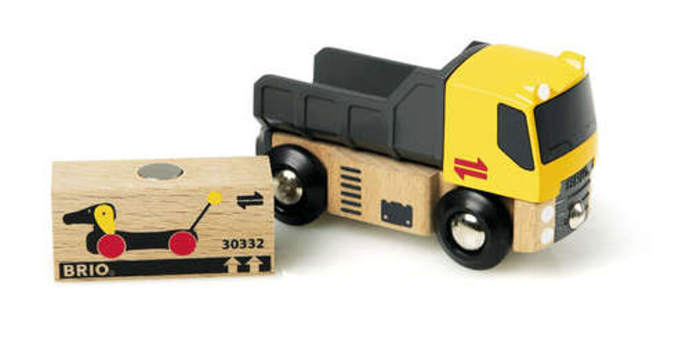 Brio Freight Goods Truck Wooden Toy 33527