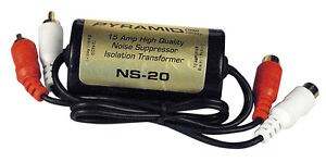 Inline noise suppressor